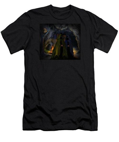 Evil Speaking Men's T-Shirt (Athletic Fit)