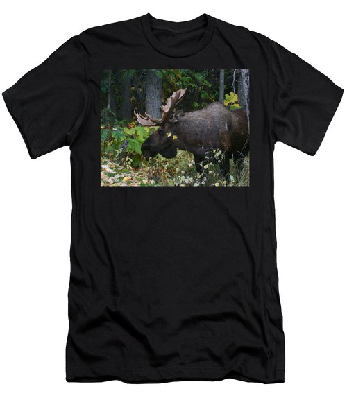 Men's T-Shirt (Slim Fit) featuring the photograph Fall Master by Doug Lloyd