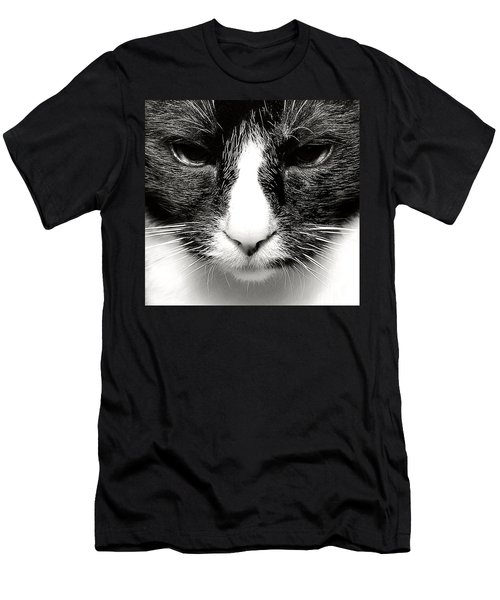 Fearless Feline Men's T-Shirt (Athletic Fit)