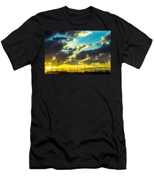 Men's T-Shirt (Slim Fit) featuring the photograph Fernandina Beach by Shannon Harrington
