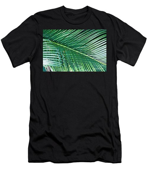 Men's T-Shirt (Athletic Fit) featuring the photograph Ferns 56 by Donna Bentley