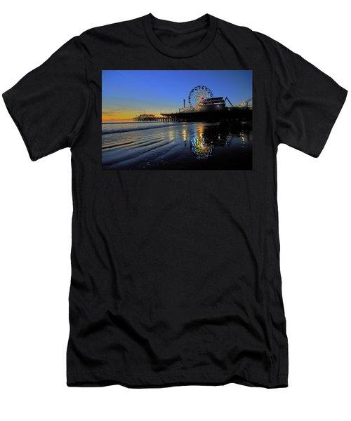 Ferris Wheel Sunset Men's T-Shirt (Athletic Fit)