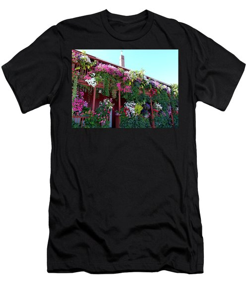 Men's T-Shirt (Athletic Fit) featuring the photograph Festooned In Flowers by Will Borden