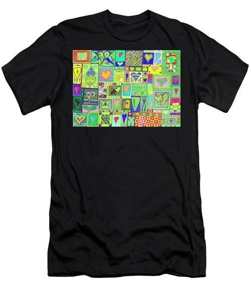find U'r Love found    v18 Men's T-Shirt (Athletic Fit)