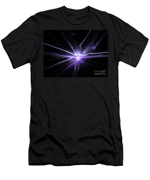 Men's T-Shirt (Slim Fit) featuring the digital art Firefly by Kim Sy Ok