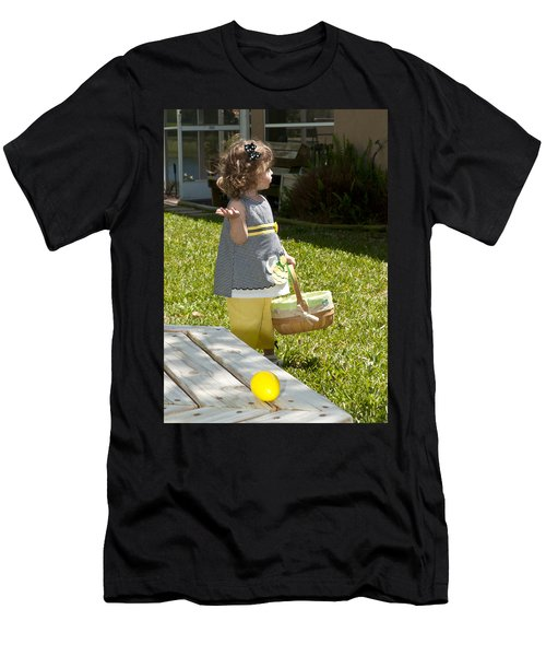 First Easter Egg Hunt Men's T-Shirt (Athletic Fit)