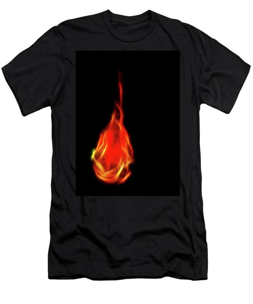 Flaming Tear Men's T-Shirt (Athletic Fit)