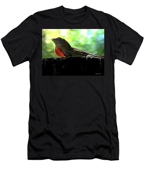 Men's T-Shirt (Slim Fit) featuring the photograph Florida Dinosaur by George Pedro