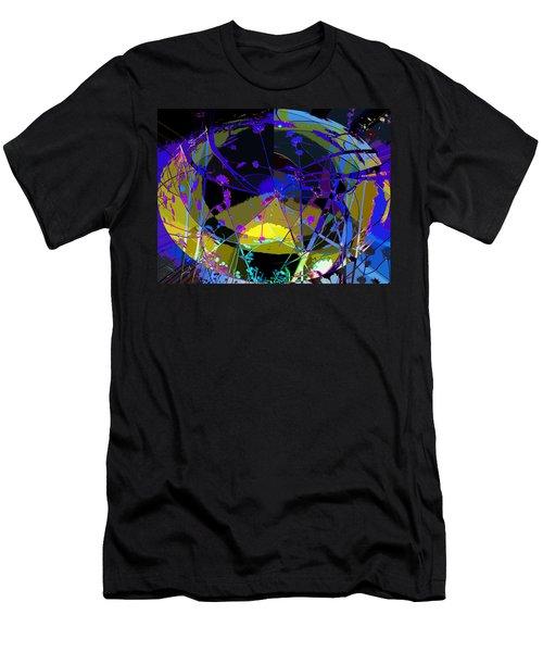 Flower Abstract Men's T-Shirt (Slim Fit) by Anne Mott