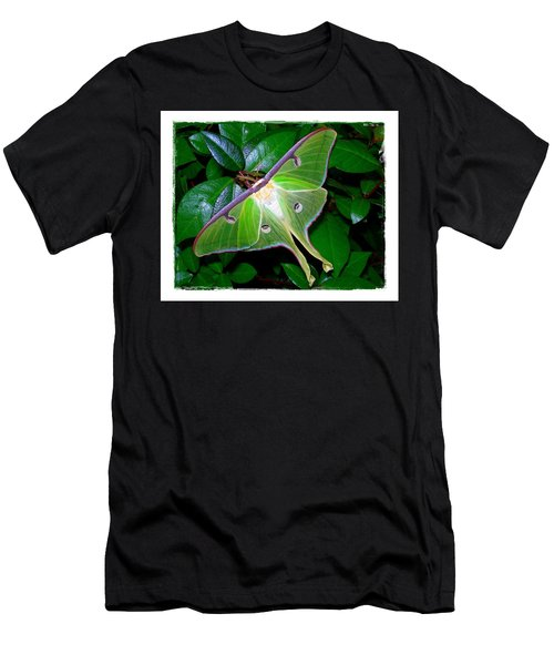 Men's T-Shirt (Slim Fit) featuring the photograph Fly Me To The Moon by Judi Bagwell