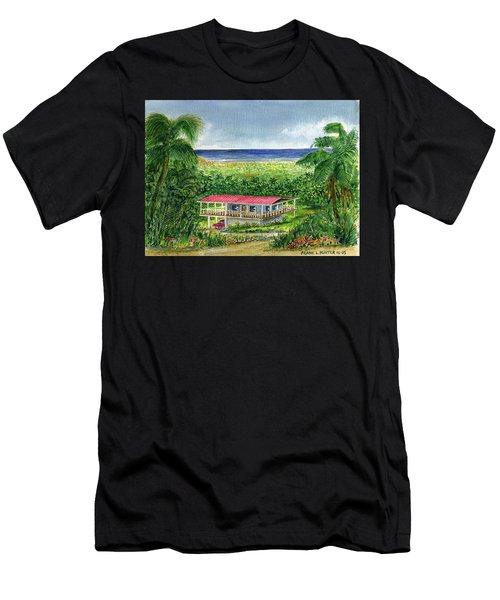 Foothills Of El Yunque Puerto Rico Men's T-Shirt (Slim Fit) by Frank Hunter