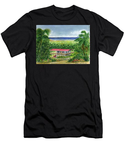 Foothills Of El Yunque Puerto Rico Men's T-Shirt (Athletic Fit)