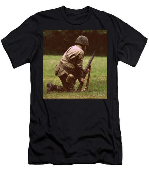 Men's T-Shirt (Slim Fit) featuring the photograph For Freedom by Lydia Holly