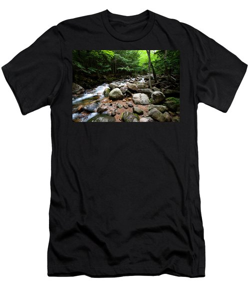 Forest Stream Men's T-Shirt (Athletic Fit)