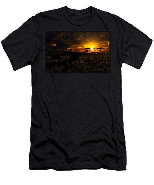 Forgotten Homestead... Men's T-Shirt (Athletic Fit)
