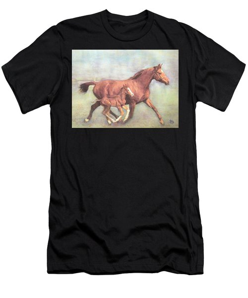 Free And Fleet As The Wind Men's T-Shirt (Athletic Fit)