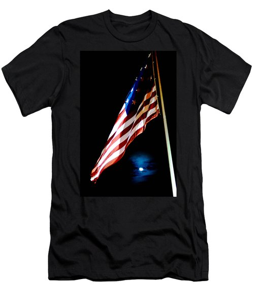 Flag On Federal Hill Men's T-Shirt (Athletic Fit)