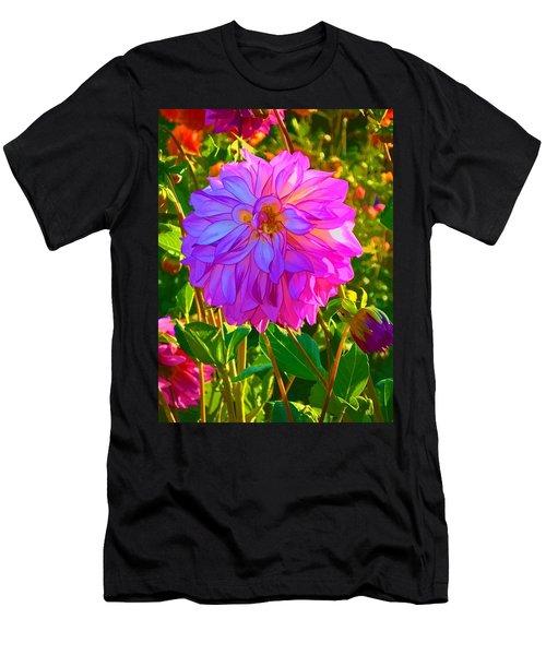 Fuchsia Delight Men's T-Shirt (Athletic Fit)