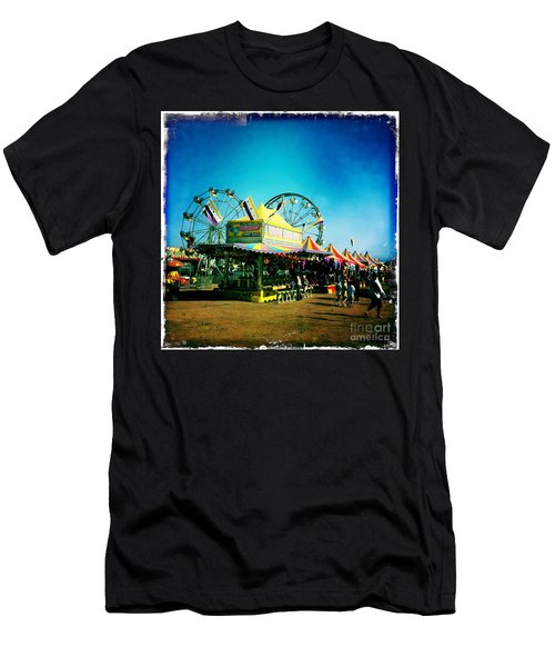 Men's T-Shirt (Slim Fit) featuring the photograph Fun At The Fair by Nina Prommer