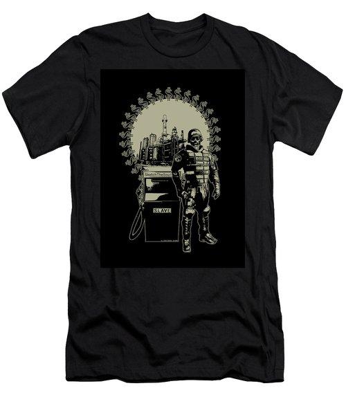 Gas Riot  Men's T-Shirt (Slim Fit) by Tony Koehl