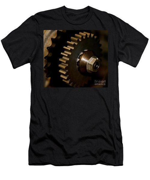 Gears  Men's T-Shirt (Slim Fit) by Wilma  Birdwell