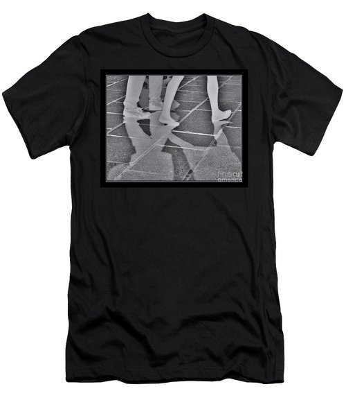 Ghost Walkers Men's T-Shirt (Slim Fit) by Victoria Harrington