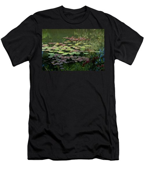 Giverny Lily Pads Men's T-Shirt (Slim Fit) by Eric Tressler