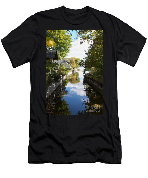 Men's T-Shirt (Slim Fit) featuring the photograph Glenora Point by William Norton