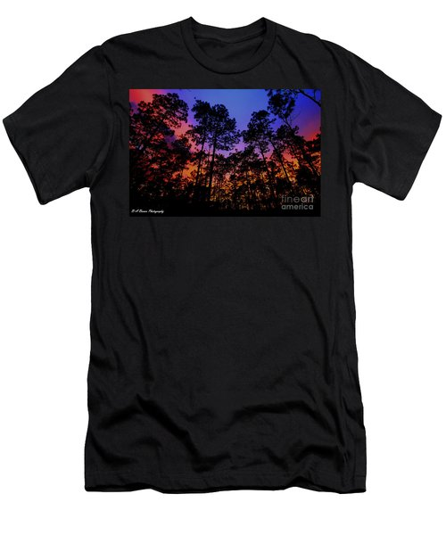 Glowing Forest Men's T-Shirt (Athletic Fit)