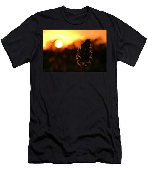 Glowing Leaf Men's T-Shirt (Athletic Fit)