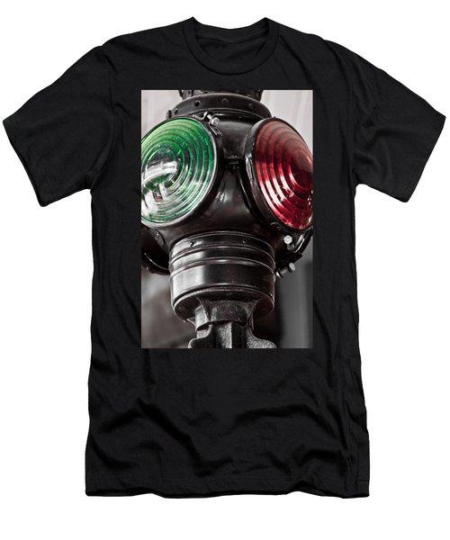 Go No Go Men's T-Shirt (Athletic Fit)