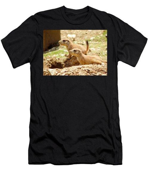 Go West Young Man Men's T-Shirt (Athletic Fit)