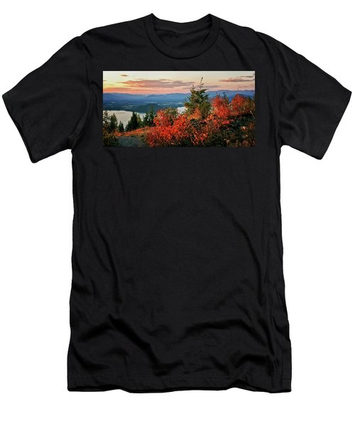 Gold Hill Sunset Men's T-Shirt (Slim Fit) by Albert Seger