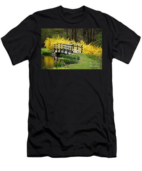 Golden Days Of Spring Men's T-Shirt (Athletic Fit)