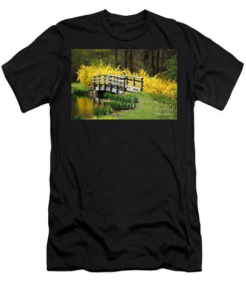 Golden Days Of Spring Men's T-Shirt (Athletic Fit)
