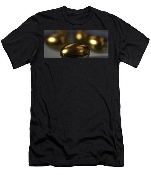 Golden Eggs Men's T-Shirt (Slim Fit) by James Barnes