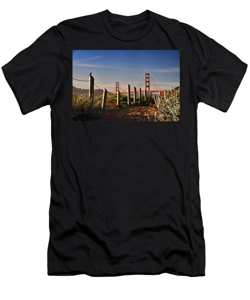 Golden Gate Bridge - 2 Men's T-Shirt (Athletic Fit)