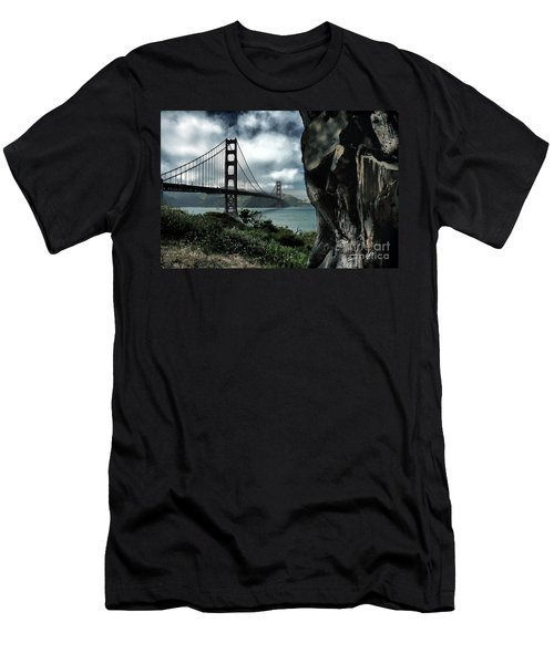 Golden Gate Bridge - 4 Men's T-Shirt (Athletic Fit)