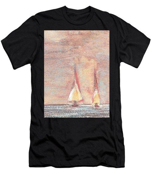 Golden Sails Men's T-Shirt (Athletic Fit)