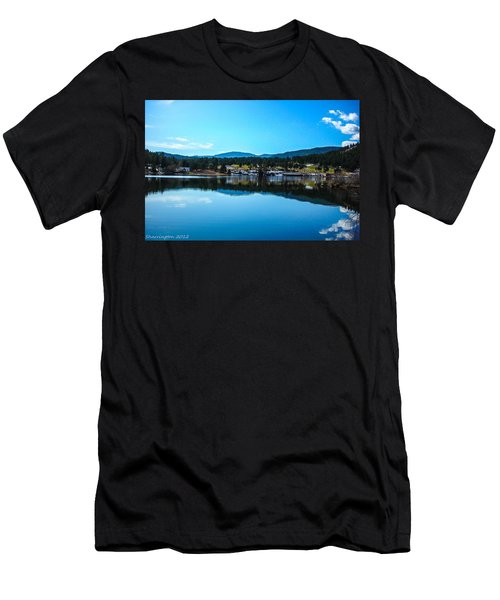Men's T-Shirt (Slim Fit) featuring the photograph Golf Course by Shannon Harrington