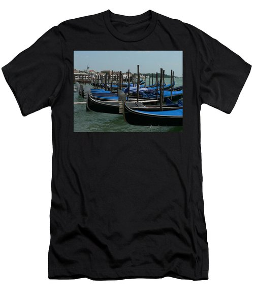 Gondolas Men's T-Shirt (Athletic Fit)
