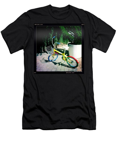 Men's T-Shirt (Slim Fit) featuring the photograph Google Mini Bike by Nina Prommer