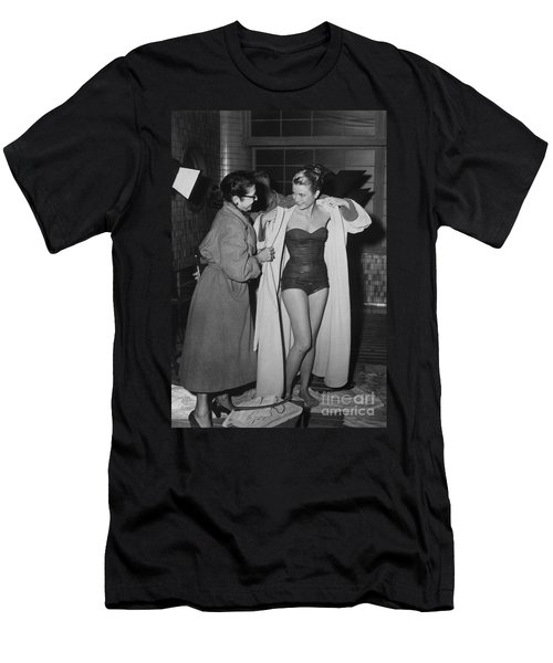 Grace Kelly  Men's T-Shirt (Slim Fit) by Photo Researchers