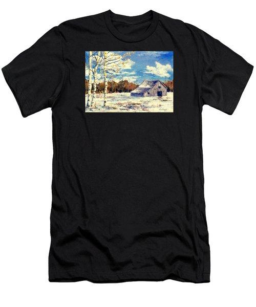 Grandma's Barn Men's T-Shirt (Athletic Fit)