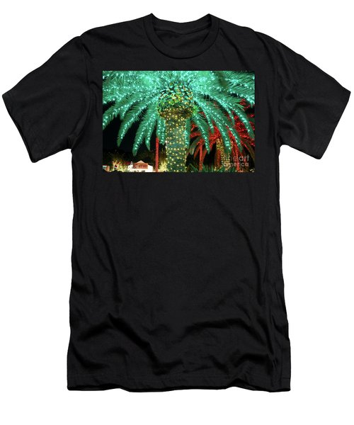 Green Palms Men's T-Shirt (Athletic Fit)