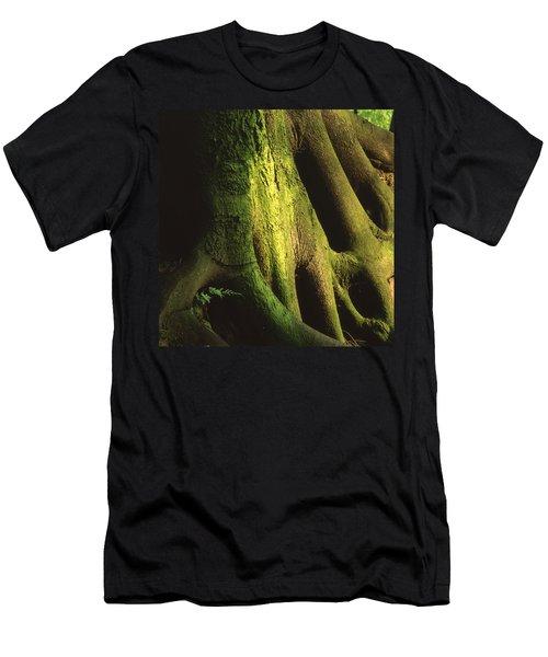 Green Trunk Men's T-Shirt (Athletic Fit)