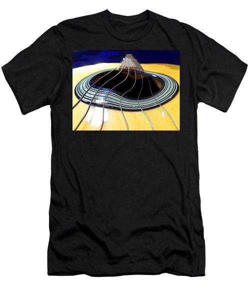 Guitar Warp Men's T-Shirt (Slim Fit) by Anne Mott