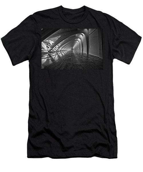 Hallway Of Repetition Men's T-Shirt (Athletic Fit)