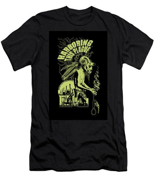 Harboring This Plague Men's T-Shirt (Slim Fit) by Tony Koehl