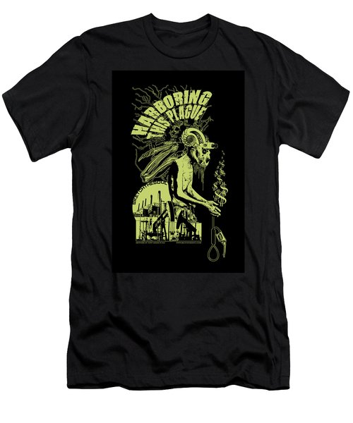 Harboring This Plague Men's T-Shirt (Athletic Fit)